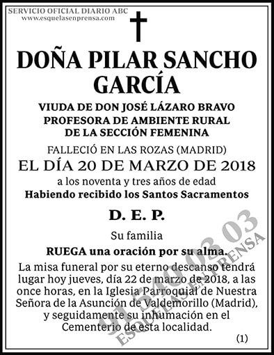 Pilar Sanche García